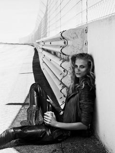 Anna Selezneva by Lachlan Bailey for Vogue Paris