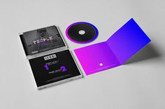 My People – Cuzy-M on Behance #caviola #print #type #cd #color #cover #colorful #music #hop #rap #hip
