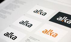 Onestep Creative - The Blog of Josh McDonald » Alka Identity System #logo #identity #branding #alka