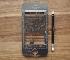 iPhone Stencil Kit #gadget