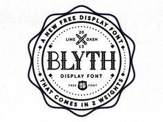 blyth_font #blyth