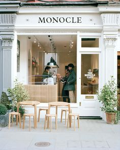 Издание Monocle открывает кафе в Лондоне (фото 1) #furniture #monocle
