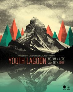 GigPosters.com - Youth Lagoon - Mozam - Lerk #poster