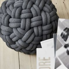 Knotty Floor Cushions #gadget #home