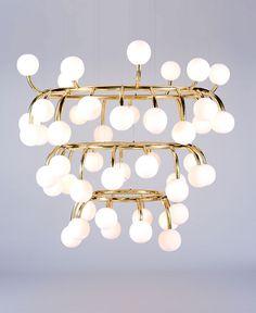 Inspiring Lighting Installations by Luum Studio - lights, lamp, lighting #design, #lighting