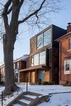 Toronto Midtown Triplex by JCI Architects