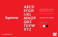Supreme #font