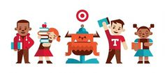 Ty Wilkins #apple #girl #boy #monster #books #target #kids #creature