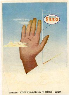 ESSO Avertisement, circa 1935 #esso #vintage #poster
