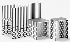 nendo: visible structures at the high museum of art #product #chair