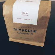 #spyhouse #minneapolis #coffee #packaging