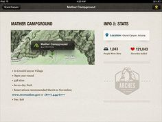 Camping_lodging_detail_screen #inspiration