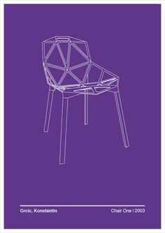 Grcic, Konstantin #chair #illustration #design #graphic