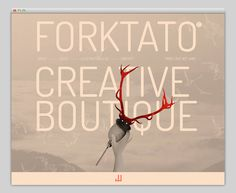 Forktato #website #layout #design #web