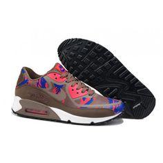Air Max Nike Shoes 2014 Prm Tape Brown Red