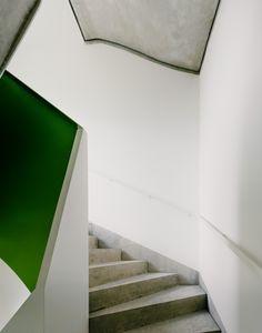 cb19 by zanderroth architekten. #stairwell #concrete #zanderrotharchitekten
