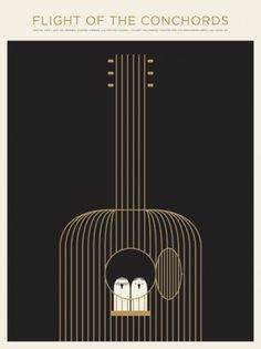 JASON MUNN - Flight Of The Conchords - Poster #design #graphic #poster