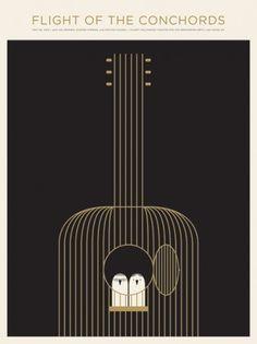 JASON MUNN - Flight Of The Conchords - Poster