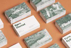 Identitetsdesign liten / Visuelt / Grafill #print #cards #identity #business