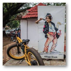 Colours of Calangute Witness art created by some of the most eminent artists of Bardez region. From creativity of vintage Goan artists to modern contemporary art, this tour is full of surprises. #letsblive #funoverfuel #fun #ev #ecotourism #eco #tours #ebikes #discovery #goavibes 🌴 #goatourism #goaindiatravel #travel #instatravel #instagoa #wanderlust #swadesdarshan #coloursofcalangute #candolim #calangute