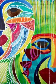 DivaWorks of art — 2 Faces 2 Masks #africa #african #mask #art #diva