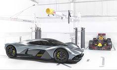 Aston Martin AM-RB 001 Hypercar #astonmartin #AMRB001 #redbullracing #luxury #sports #hypercar