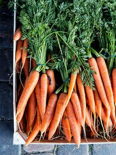 Beauties at the market in Gothenburg, Sweden. #orange #food #veggies #farm #vegetable #farmers #carrots #green