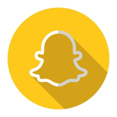 See more icon inspiration related to snapchat, logo, social media, social network, logos, logotype and brands and logotypes on Flaticon.