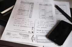 Large #wireframe #sketch