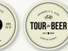 Tour de Beer Mat #beer #tour #retro #mat #coaster