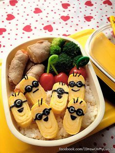 40+ Creative Bento Box Lunch Ideas for Kids #bento #box #ideas #lunch #kids