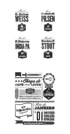 Beer, Pattern, type, design