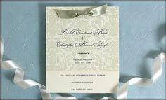 Design Gallery for Elegant Wedding Invitations, Wedding Announcement Cards & Letterpress Stationery - Dauphine Press #wedding