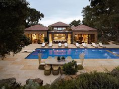 Traditional Tuscan Villa Transformed into a Modern Country House