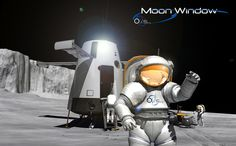 "XLDron ""Moon Window"" #tourism #innovation #aircraft #space #concept #moon"