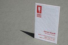 Blush°° Bespoke & custom letterpress printing in the UK #business card