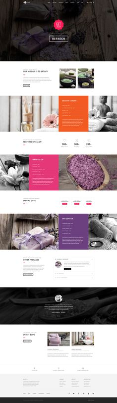 H-Code #Responsive & #Multipurpose #OnePage and #MultiPage #Template For #Spa and #Beauty Saloon by #ThemeZaa http://goo.gl/ygs4kX