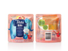 Tilda Kids on Packaging of the World   Creative Package Design Gallery