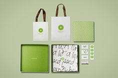 Mucho Piperlime #pattern #business #card #identity #bag #lime