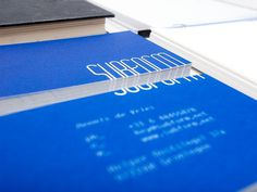 subform #identity #business card #pantone #letterhead #subform #dennis de vries #reflex blue