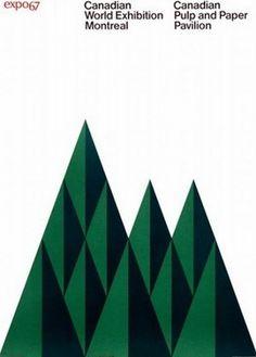 Martin Klasch: Vintage Design: Expo 67 #design #vintage #poster #international typographic style #grid system #expo67