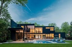 44 Belvedere Residence in Ontario, Canada #architecture #residence #modern