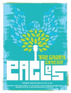 PIEDMONT PARK CONSERVANCY | JEFF OEHMEN #jeff #design #park #illustration #piedmont #for #poster #oehmen #eagles