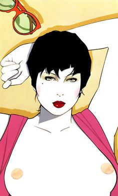 PATRICK NAGEL :: ILLUSTRATION #patrick #illustration #art #nagel
