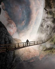 Creative and Dreamlike Photo Manipulations by Aaron Elliott