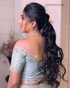 Thin Wavy Layering Hairstyle For engagement