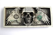 Scott Campbell - BOOOOOOOM! - CREATE * INSPIRE * COMMUNITY * ART * DESIGN * MUSIC * FILM * PHOTO * PROJECTS #dollar #skull #art