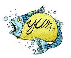 mmmmm my favorite  #fishtacos #tacos #illustration #yum