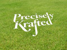 I am Peter King—Graphic designer #precisely #grass #perspective #lock #krafted #up #custom #type #typography