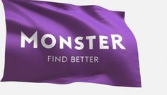 New services, logo and brand identity for leading employment website Monster.com | The Branding Journal #monster #logo